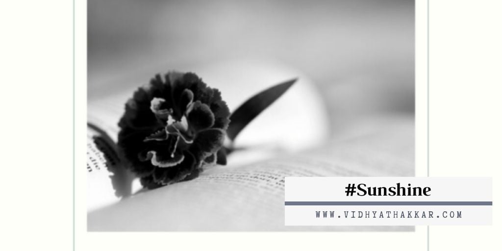 Read more about the article On the Second day of Navratri, Sunshine, Learn to Believe – #9daysofsunshine .